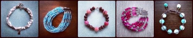 Sample bracelets